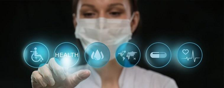 nurse using future technology