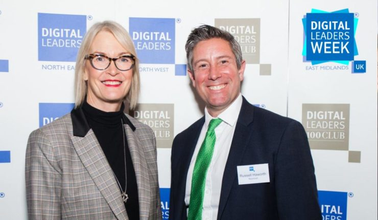 Russell Haworth and Margot James