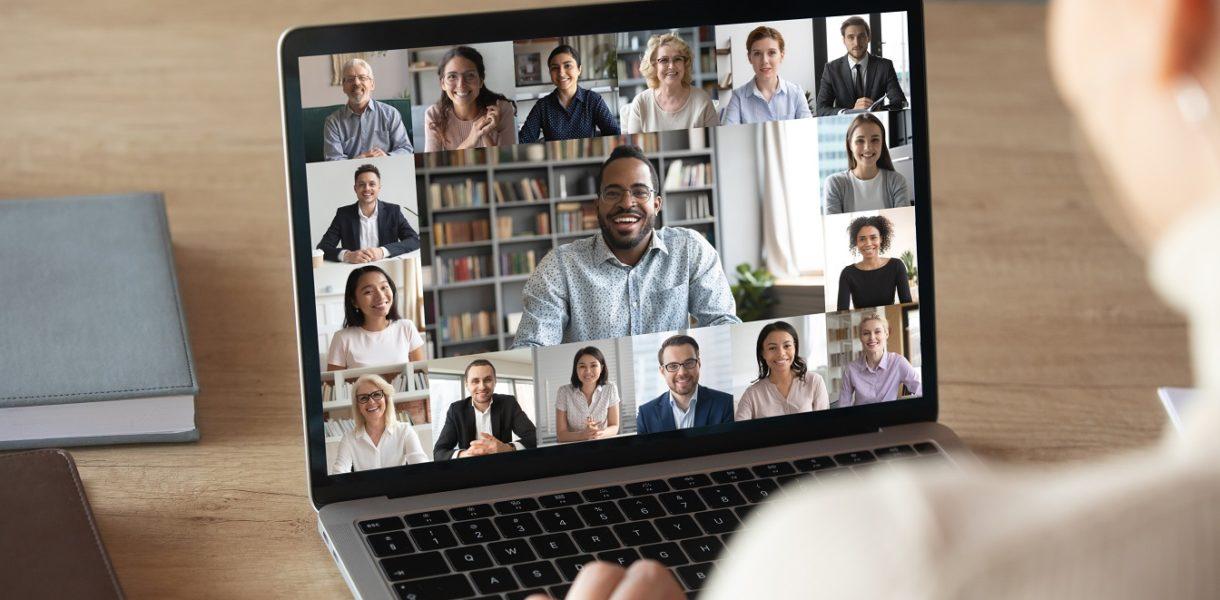 connecting via laptop